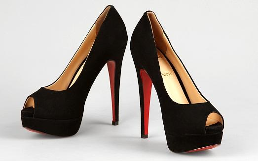Red sole of this brand