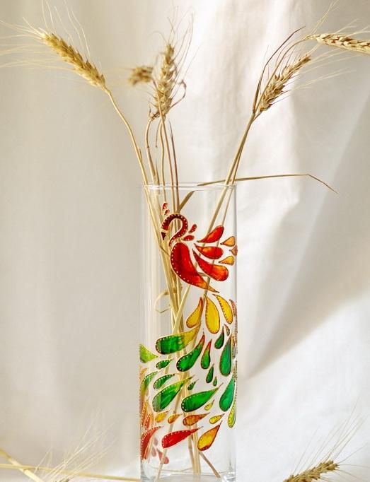 Роспись ваза своими руками