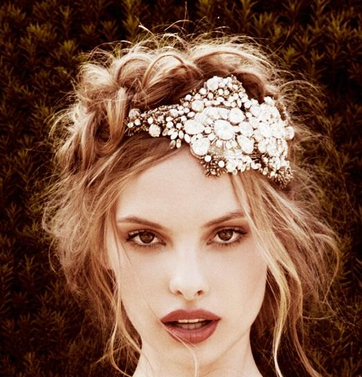 Hairpins decorate any girl