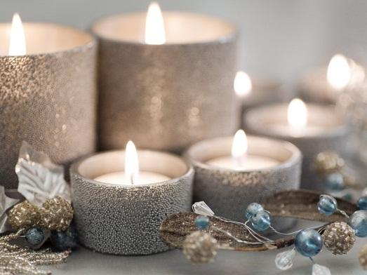 Свечи - символ Нового года