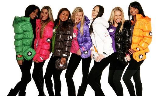Яркие куртки для зимы