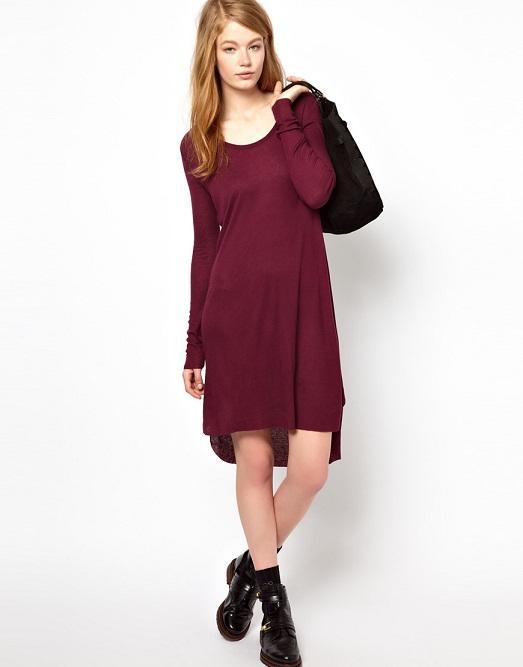 ab621cd1d1d Теплые и красивые шерстяные платья (16 фото)