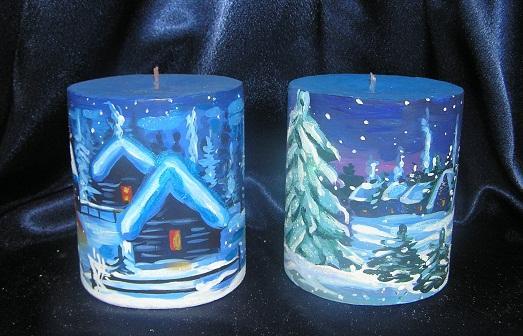 Праздничные свечи