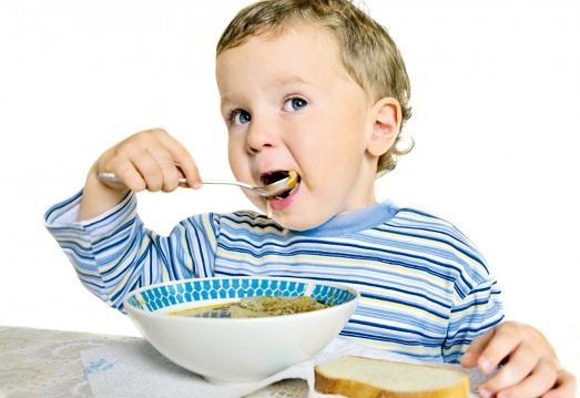 Ребенок должен питаться хорошо