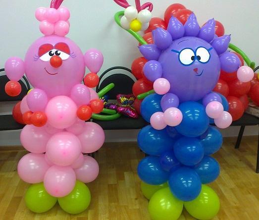 Вязание воздушных шаров
