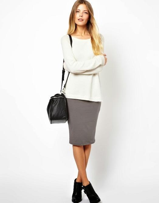 Главное выбрать хорошую длину юбки