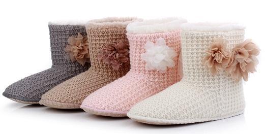 Милая и теплая обувь