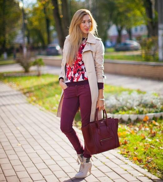 Стильная осень и весна