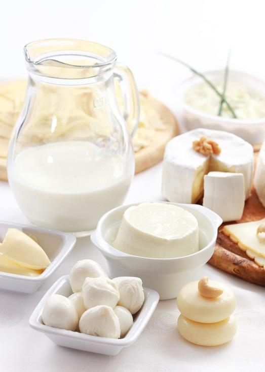 В молочных продуктах много полезных веществ