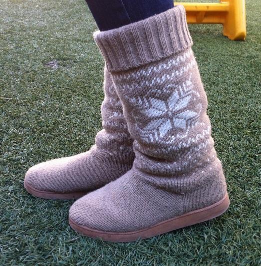 В такой обуви не замерзнешь