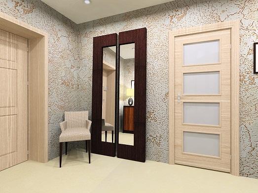 Зеркала украшают помещение