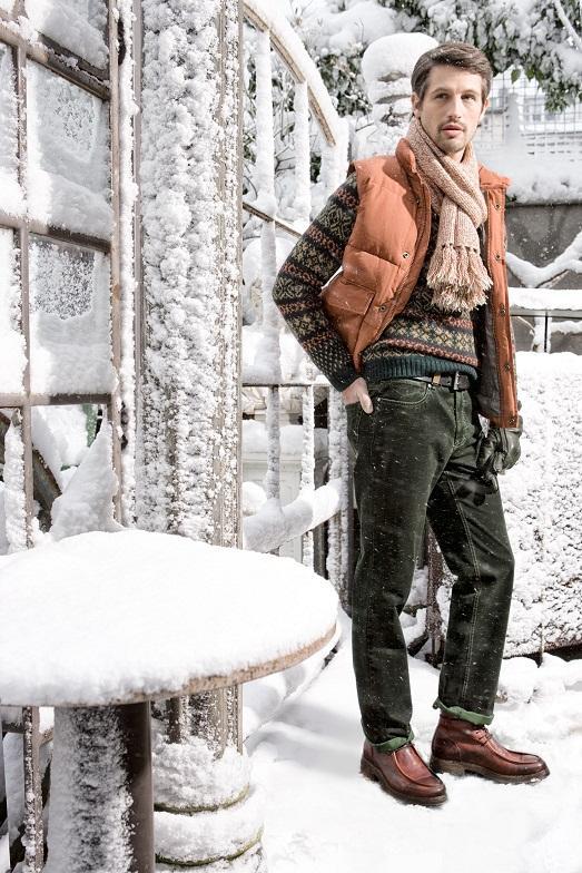 Зима не повод одеваться скучно