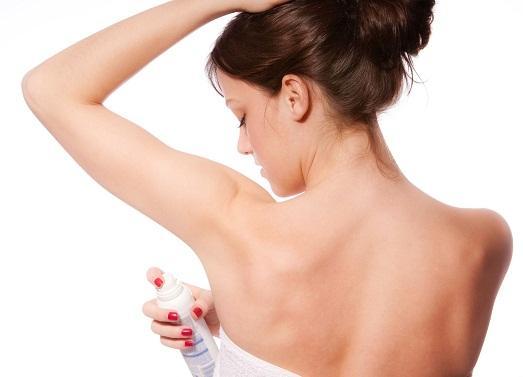 Без дезодоранта не обойтись