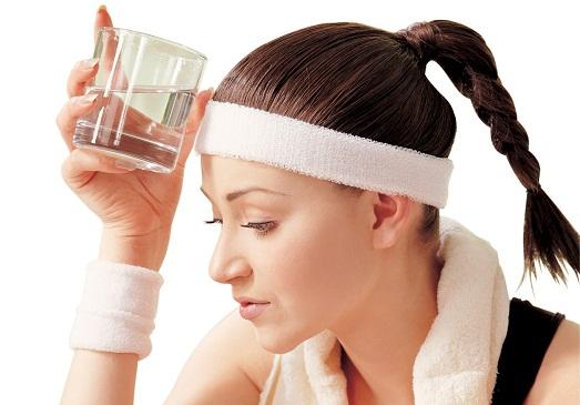 Без спорта и воды не похудеть