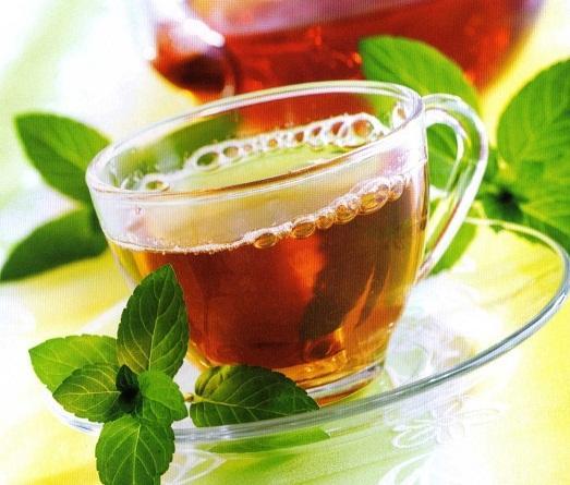 Чай, способствует очищению