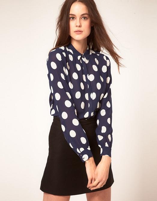 Горох может быть на вашей блузке