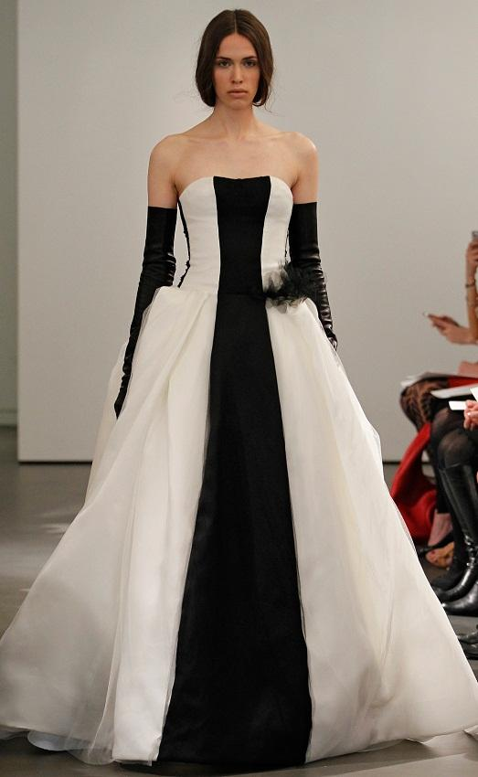 Not every bride dares to wear such a