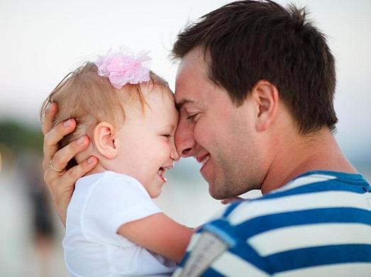 Папа должен участвовать в воспитании дочки