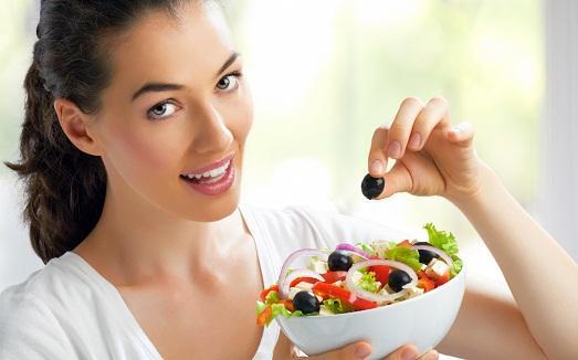 Правильное питание - залог успеха