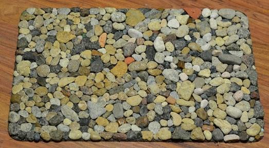 Коврики из камней своими руками