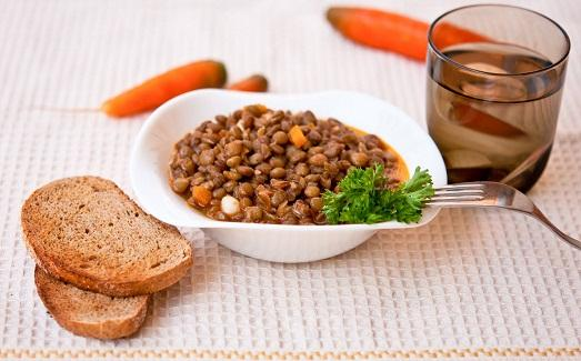 Вкусные блюда из чечевицы