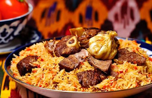 Мясо и рис - волшебное блюдо