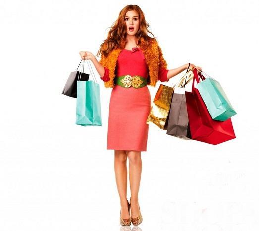 Женщины любят шоппинг