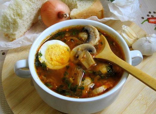 Шикарный наваристый суп