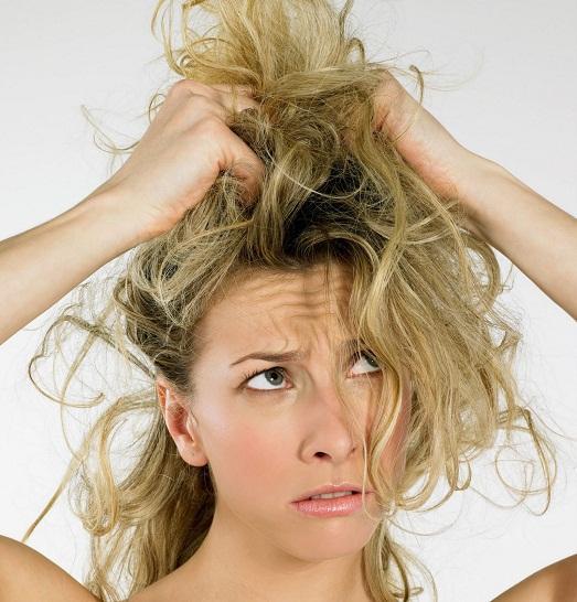 Волосы очень сильно путаются что делать