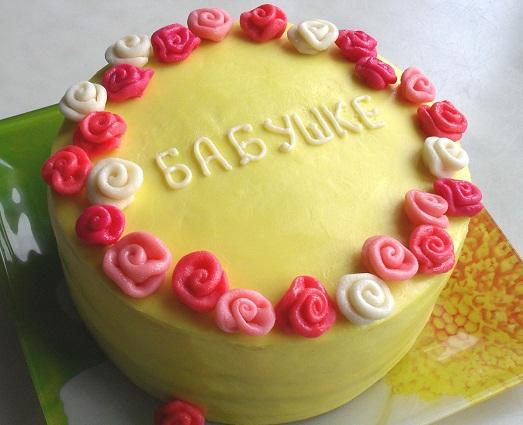 торт своими руками на день рождения маме выделяется чем-то особенным