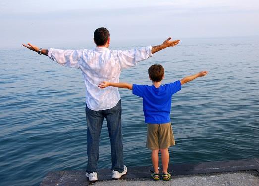 Воспитание сына – сложно, но интересно