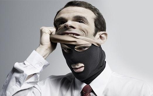 Иногда люди носят маски