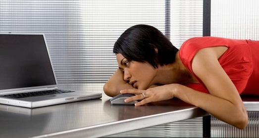 От работы устаешь