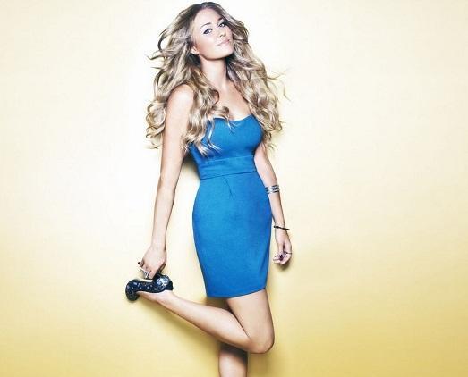Синее платье – красиво, модно и актуально (18 фото)