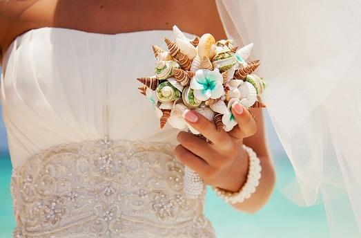 Интересная морская свадьба: все в деталях
