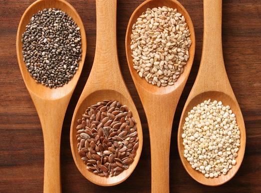 Чиа и семена льна