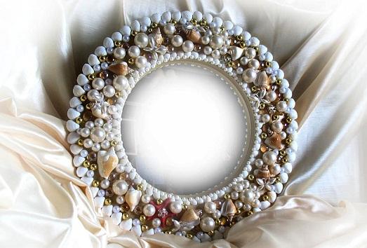 Оригинальное украшение рамок для зеркал