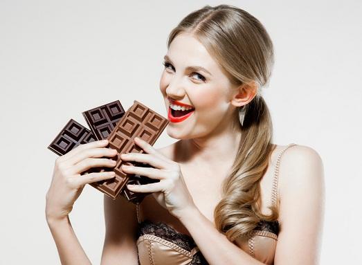 Бывает шоколадная