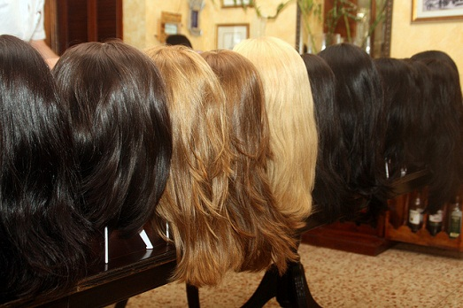Из натуральных волос