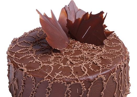 Надпись из шоколада на торт своими руками