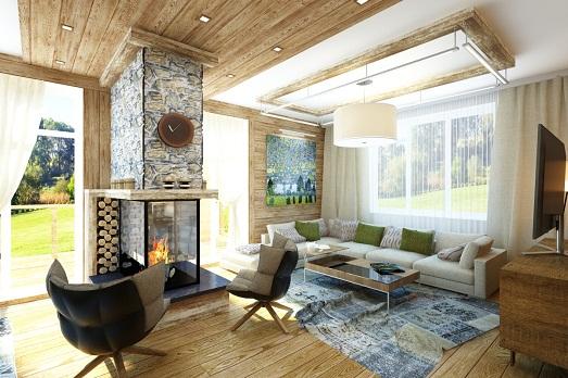 Шале – стиль для роскошного дома