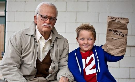Unbearable grandfather