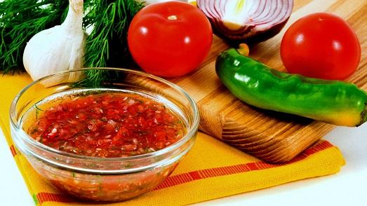 Как приготовить домашнюю сальсу?