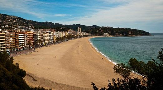 Пляжи Коста Брава в Испании