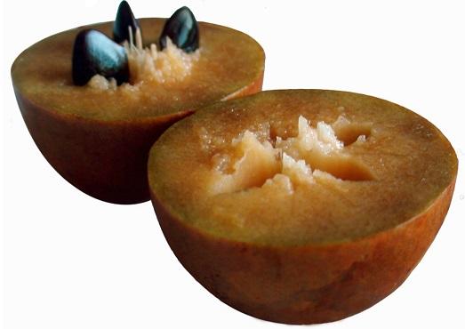 Саподилла – интересный фрукт для настоящих гурманов
