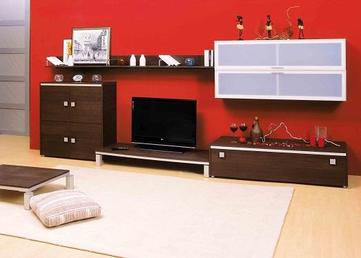 Интересные идеи для использования красного цвета в интерьере (10 фото)