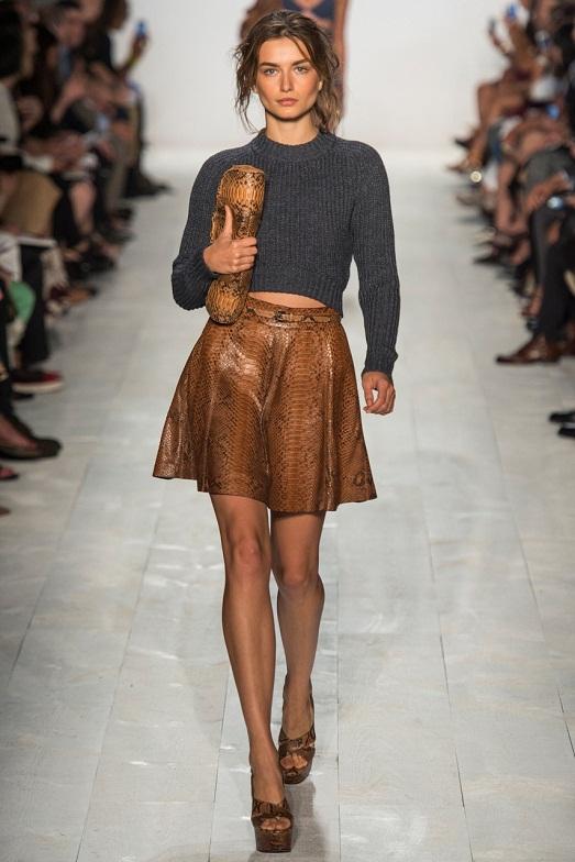 Skirt trapezoid