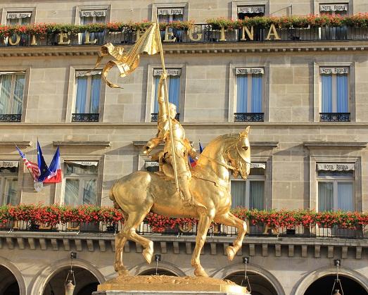 Памятник Жанне Д'Арк