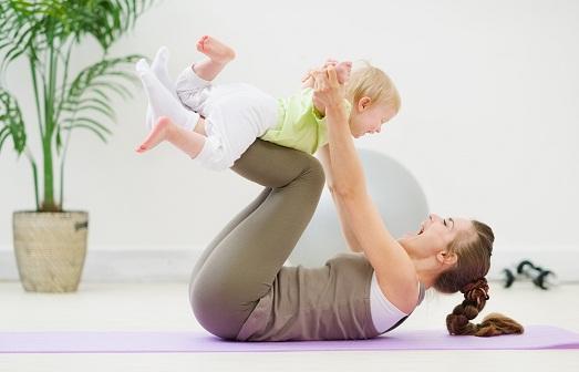 Правильное похудение после родов