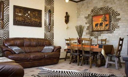 Особенности африканского стиля в интерьере (10 фото)